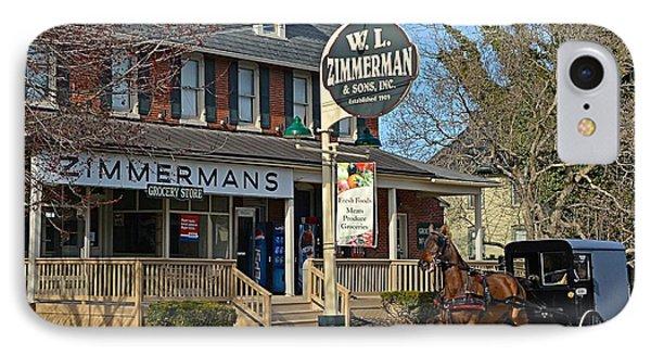 Zimmerman's Store Intercourse Pennsylvania IPhone Case
