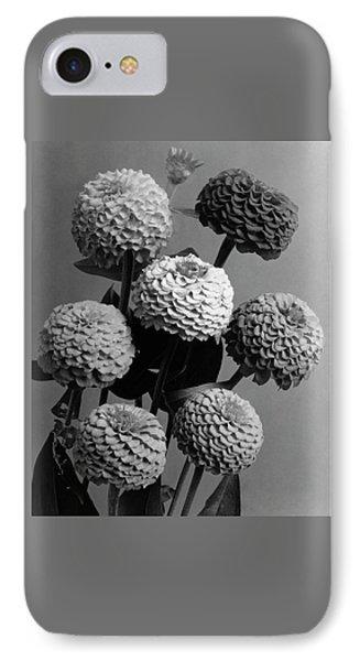 Zinnia Lilliput Flowers IPhone Case