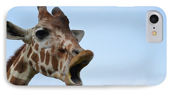 Zootography Giraffe Honking IPhone Case