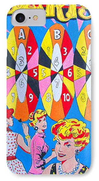Girl Darts IPhone Case