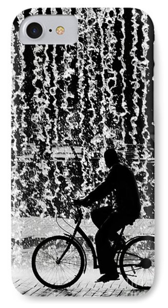 Bicycle iPhone 8 Case - Cycling Silhouette by Carlos Caetano
