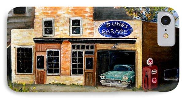 Duke's Garage IPhone Case