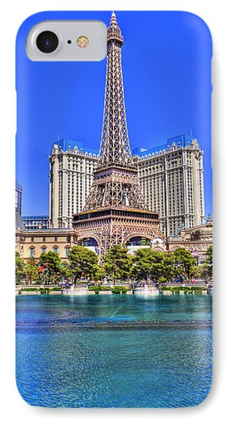 Eiffel Tower Las Vegas IPhone Case