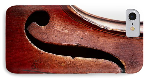 Violin iPhone 8 Case - G Clef by Michal Boubin