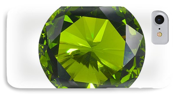 Green Gem Isolated IPhone Case