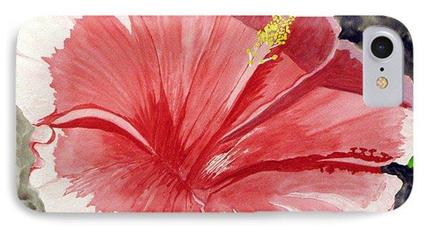 Happy Hibiscus IPhone Case