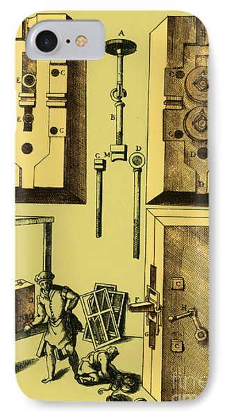 Rolling Mill For Lead Strips IPhone Case