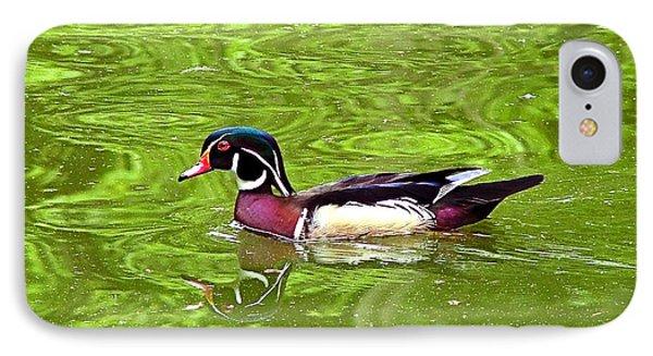Water Wood Duck IPhone Case