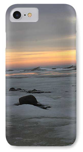 Winter Evening Lights IPhone Case