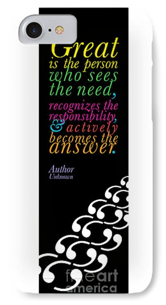 The World's Greatest Quote. IPhone Case