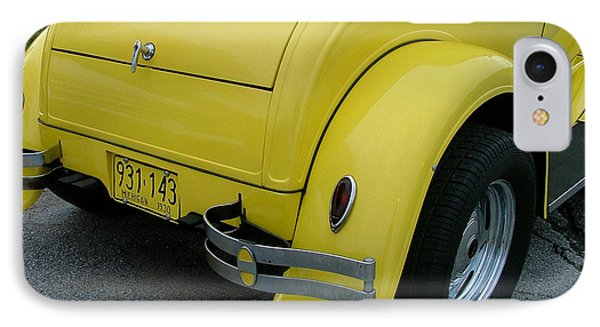 1930 In Yellow IPhone Case