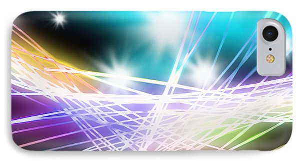 Abstract Of Stage Concert Lighting IPhone Case