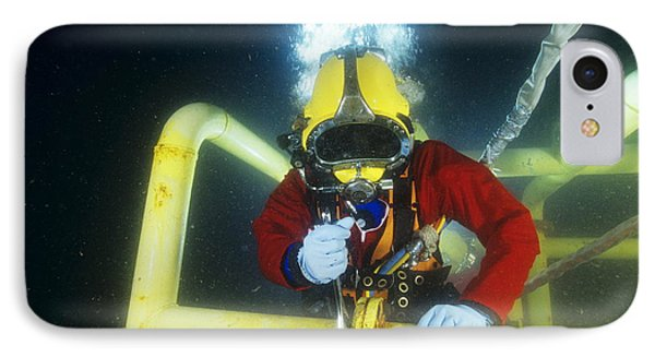 Commercial Diver IPhone Case