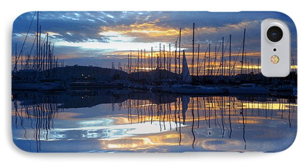 Volcanic Reflections IPhone Case