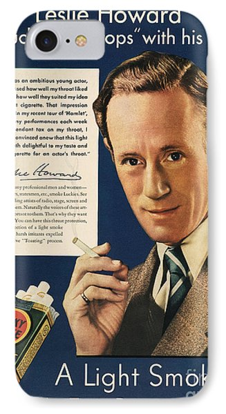 Lucky Strike Cigarette Ad IPhone Case