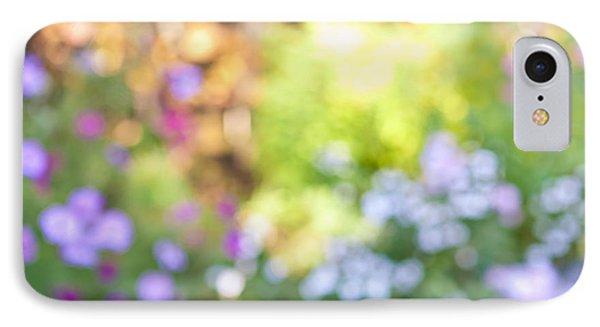 Garden iPhone 8 Case - Flower Garden In Sunshine by Elena Elisseeva