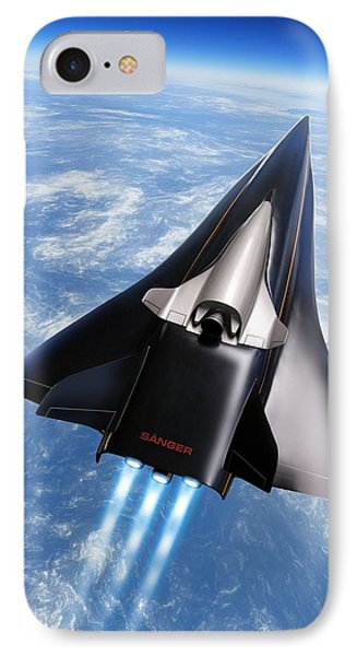 Saenger Horus Spaceplane, Artwork IPhone Case