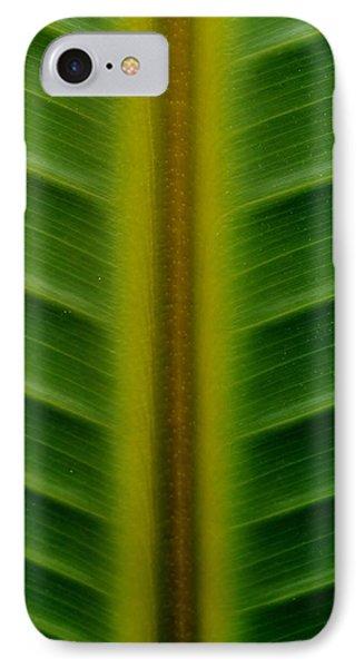 Wild Banana Leaf IPhone Case
