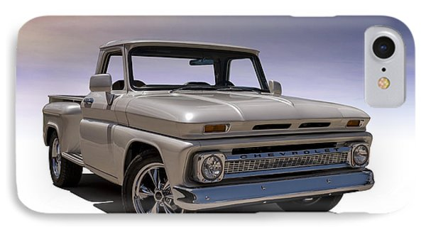 Truck iPhone 8 Case - '66 Chevy Pickup by Douglas Pittman