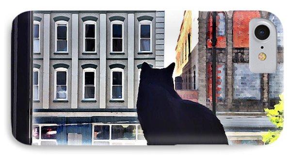 A Cat's View IPhone Case