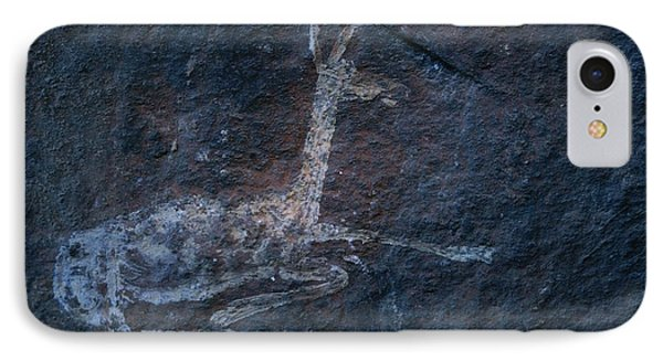 Republic Of South Africa iPhone 8 Case - A Cave Painting Of A Rhebok by Kenneth Garrett