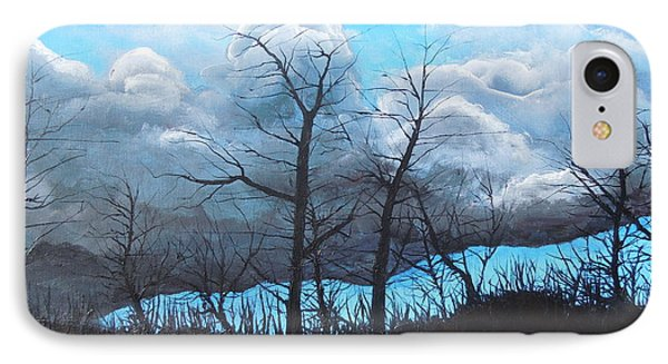 A Cloudy Day IPhone Case