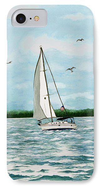 A Day In Virginia IPhone Case