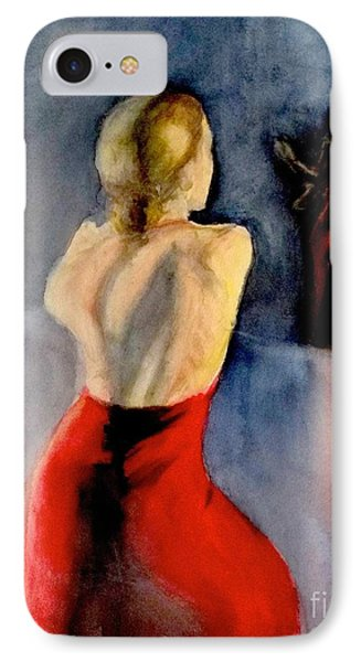 A Flamenco Dancer  3 IPhone Case