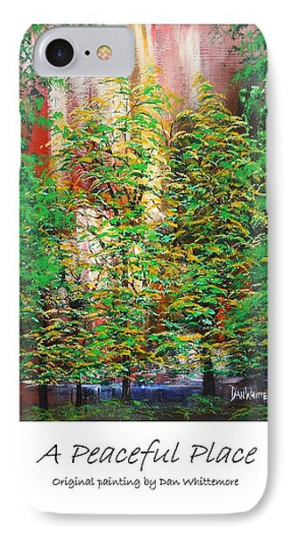 A Peaceful Place Poster IPhone Case