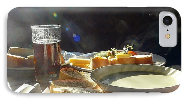 A Ploughman's Lunch IPhone Case