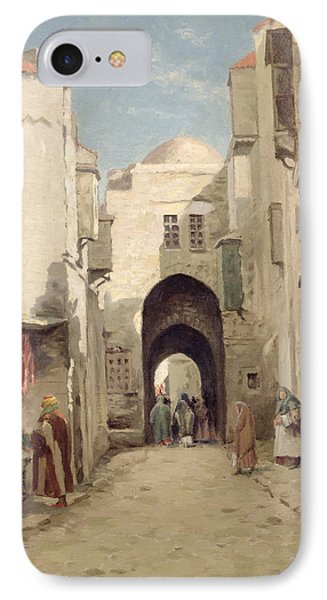A Street In Jerusalem IPhone Case