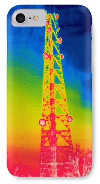 A Thermogram Of An Antenna IPhone Case