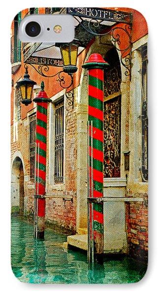 A Venetian Hotel IPhone Case