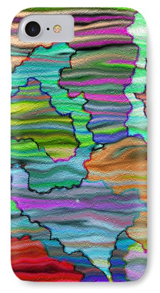 Abstract Emotions  IPhone Case
