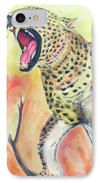African Leopard IPhone Case