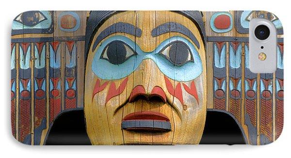 Alaska Totem IPhone Case
