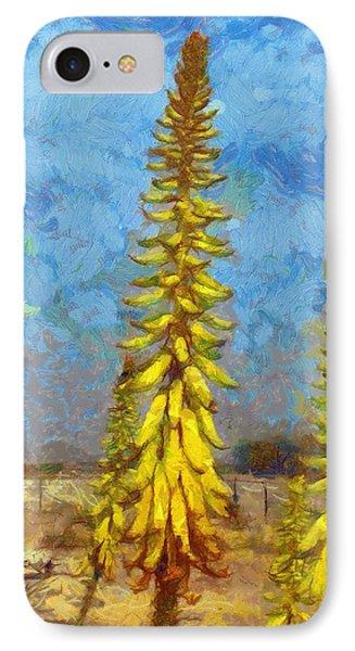 Aloe Vera Flowers IPhone Case