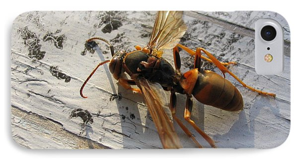 Apache Red Wasp IPhone Case