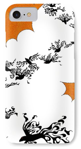As The Crows Fly IPhone Case