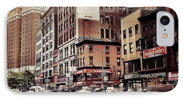 As The Rain Falls - New York City IPhone Case