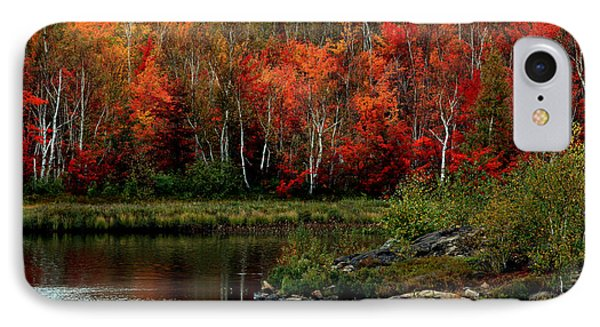 Autumn In Canada 2 IPhone Case