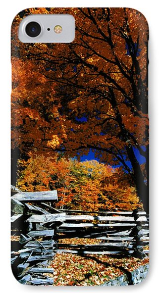 Autumn In Holderness IPhone Case