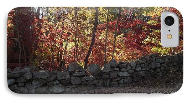 Autumn In New England IPhone Case