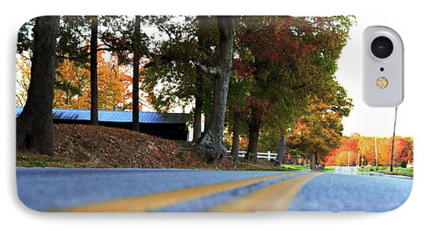 Autumn Road IPhone Case