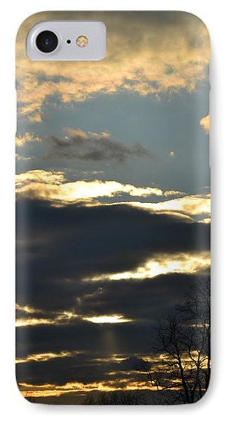Backlit Clouds IPhone Case