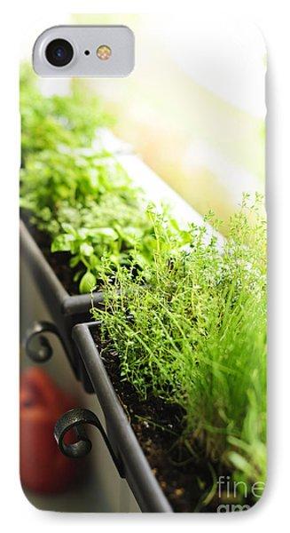 Balcony Herb Garden IPhone Case