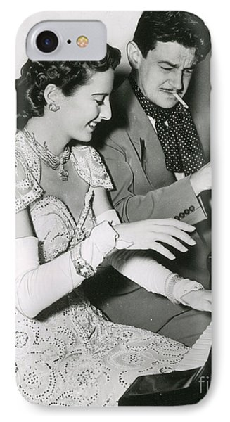 Barbara Stanwyck & Preston Sturges IPhone Case