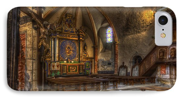 Baroque Church In Savoire France 2 IPhone Case
