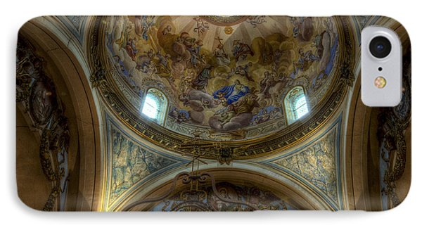 Baroque Church In Savoire France 5 IPhone Case