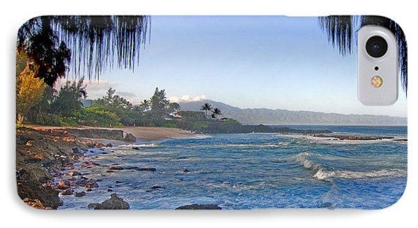 Beach On North Shore Of Oahu IPhone Case